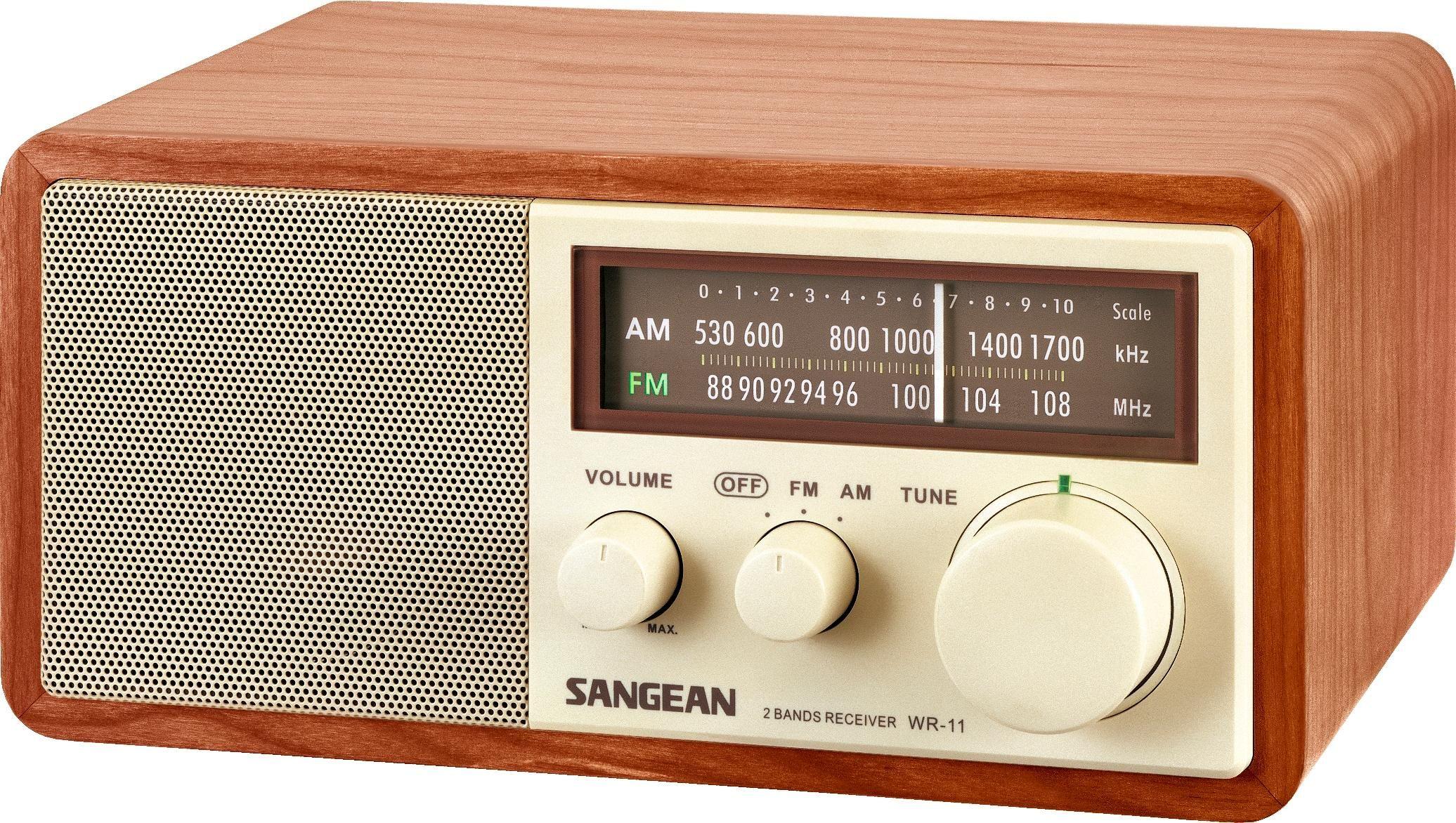 Sangean WR-11SE AM//FM Table Top Radio 40th Anniversary Edition