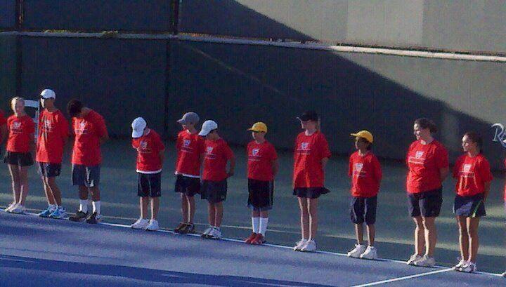 Steb - ball kid at Rancho Las Palmas