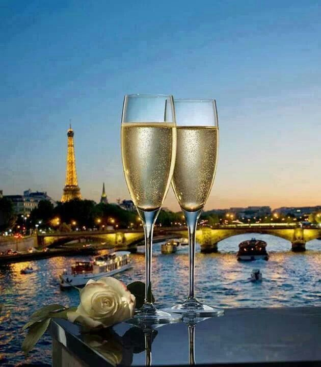 Champagne in Paris, France | Places around the world | Pinterest