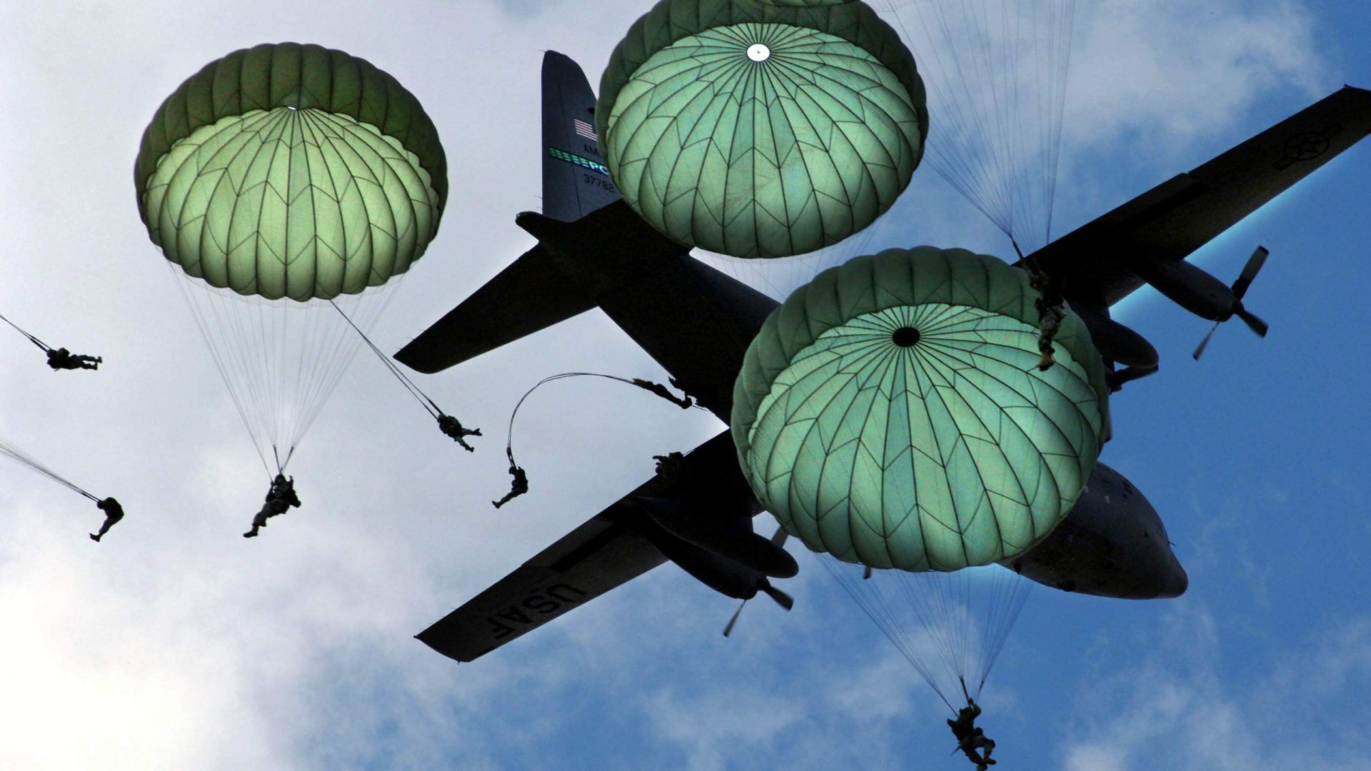 Airborne Army Paratroopers Wallpaper [1920x1080] Need