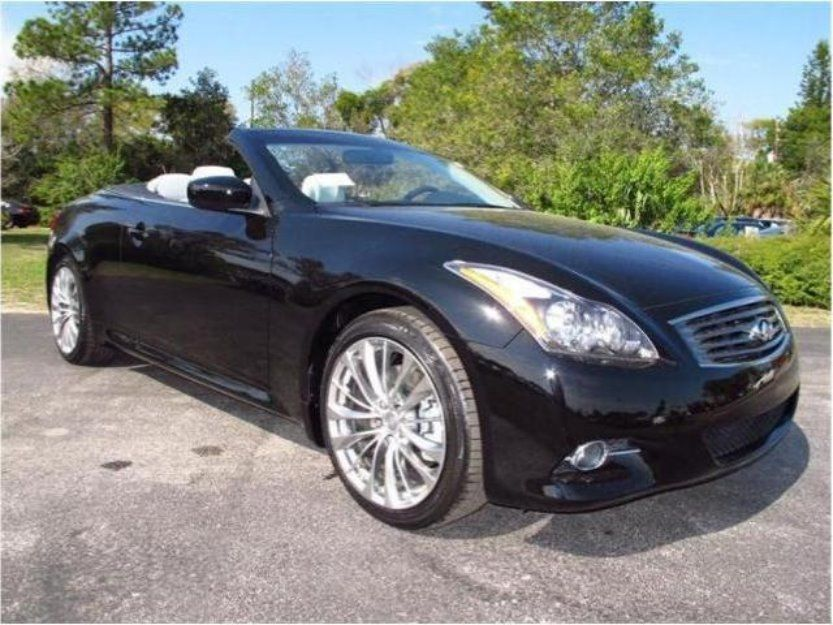 2013 Infiniti G37 Convertible.....Ira and I love to have