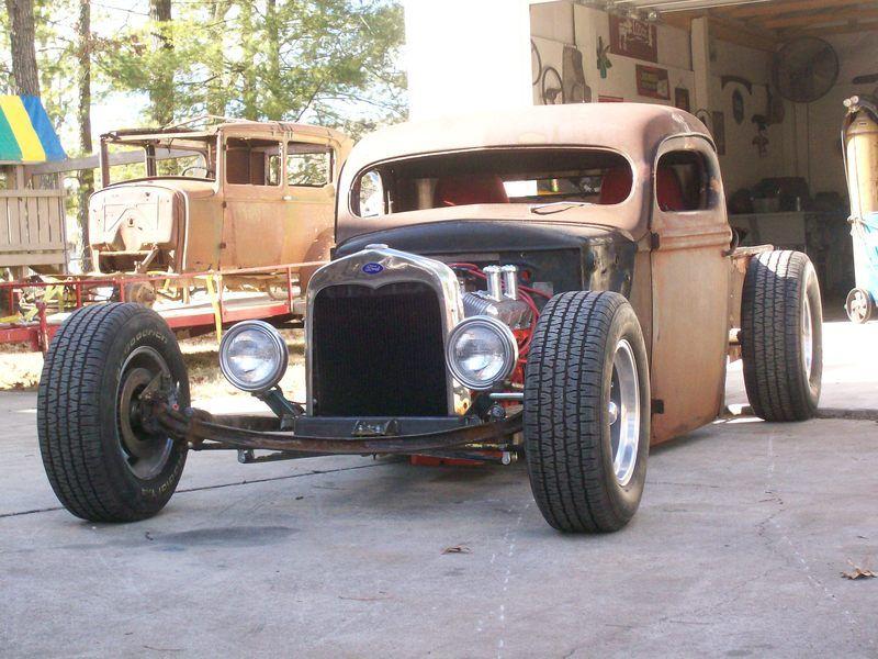 40 ford truck ricky bobby 39 s rod shop hot rod. Black Bedroom Furniture Sets. Home Design Ideas