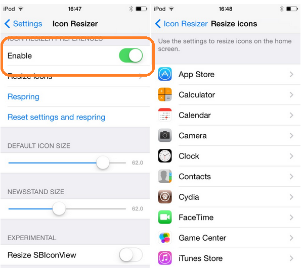 How to Change Apps icon Size in iPhone, iPad Resize App icon