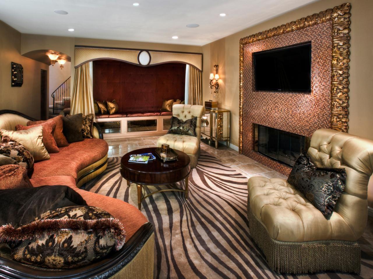 Enchanting Zebra Print Living Room Set on House Decor ...