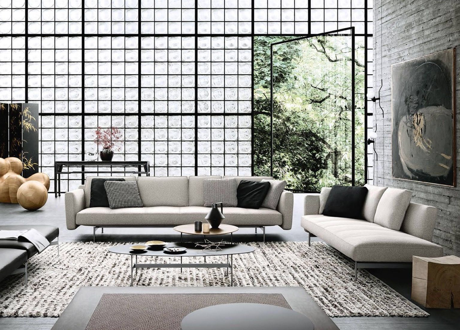B B Italia Sake Sofa By Piero Lissoni Furniture Design