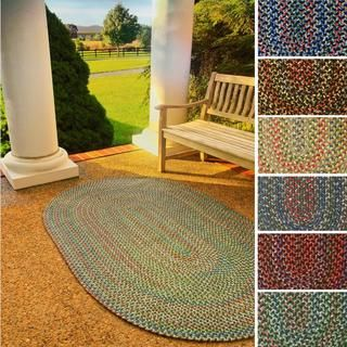 Katie Indoor/ Outdoor Reversible Braided Rug (5' x 8')