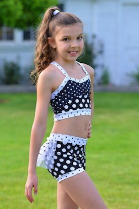 ae5cd21d75d556 Dotty Mia Crop Bustle Booty Set – Lexi-Luu Designs Inc. Online Store Dance  wear.