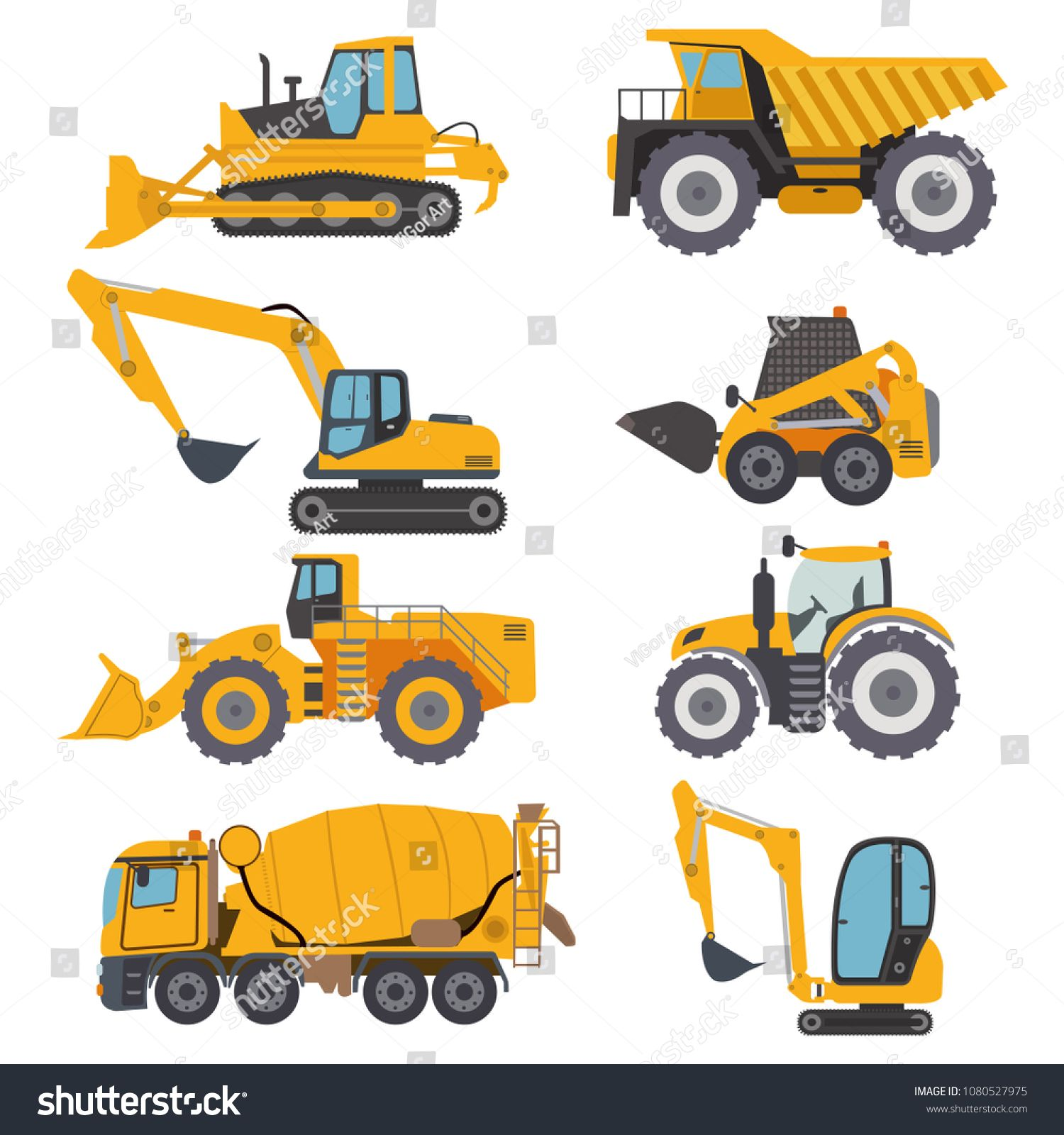 Construction Machinery Vehicle Industry Truck Equipment Heavy