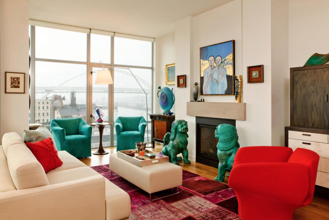 eclectic garrison hullinger interior design