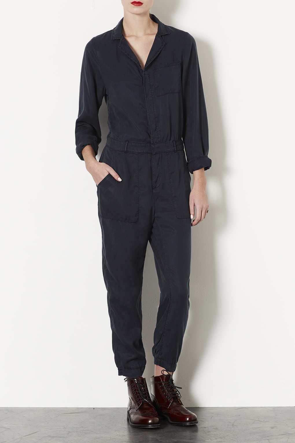 f50d1e5482e Casual Boiler Suit - Playsuits and Jumpsuits - Clothing - Topshop Europe