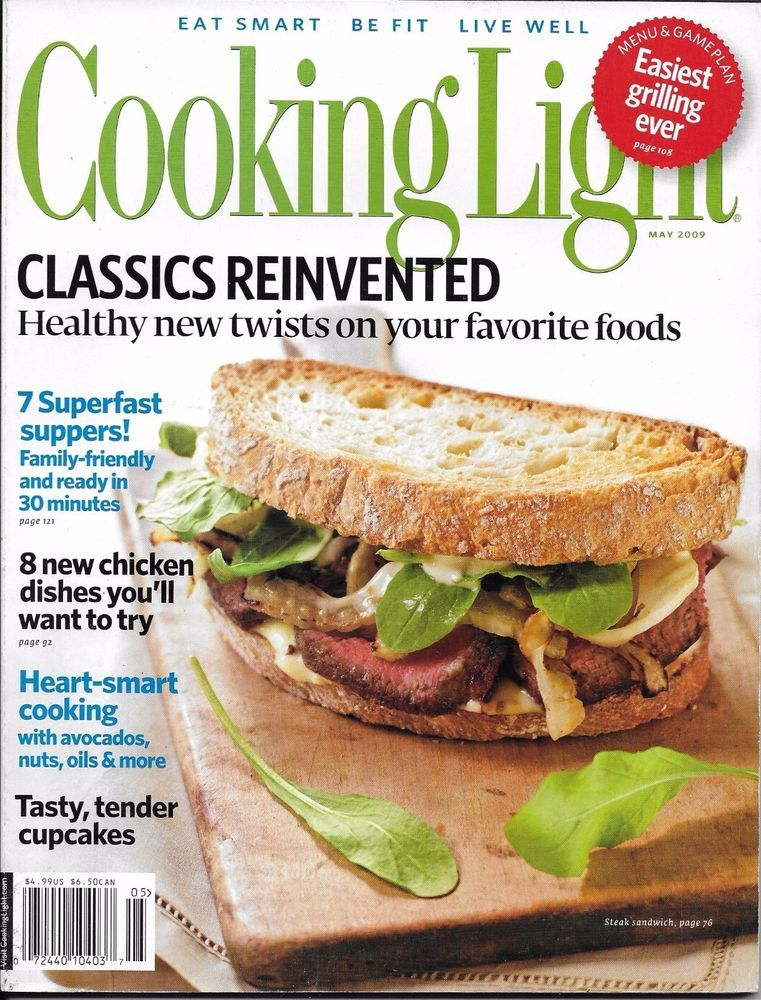 Cooking Light magazine Classic recipes Fast suppers