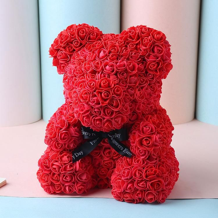 HTML Give someone special a gorgeous Handmade Rose Bear for any occasion! 🌹🐻Already Proving to be 2021's Gift of the Year! Labeled as 2020's Gift of the Year! Truly perfect for any occasion, Always Handmade with Love! This perfect gift will look great as a decoration piece anywhere in your loved one's home or office. Our Rose Bears are Hypoallergenic, Designed with synthetic roses in a combination of colors, this handmade Rose Bear lasts for years with no care needed! The best gift for Christm