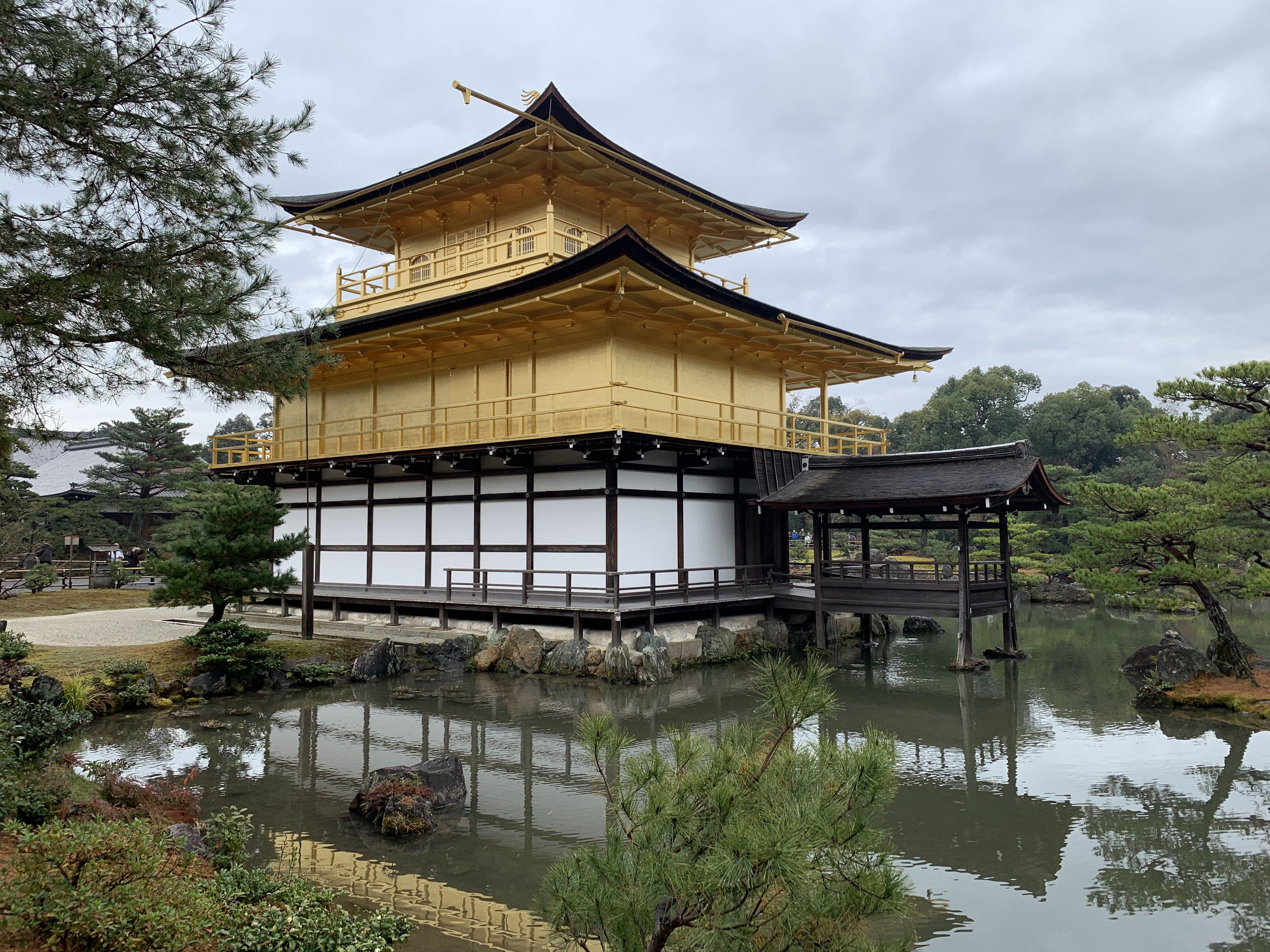 Kinkaku Ji Temple Kinkakuji Golden Pavilion Temple