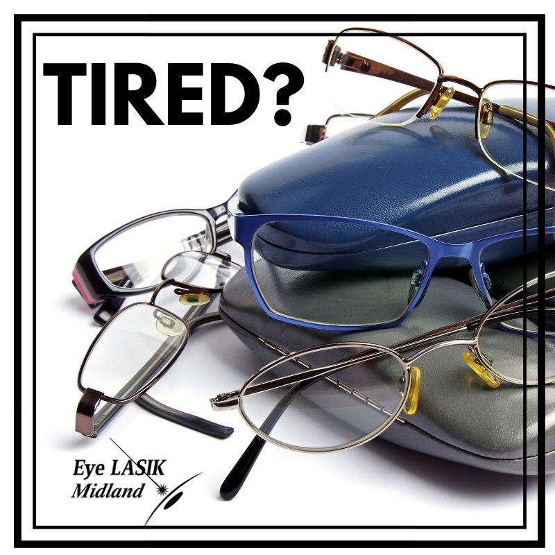 If you're tired of wearing glasses, consider Eye Lasik