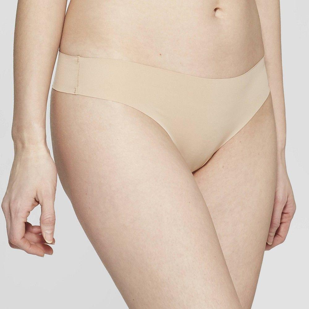 3b75482378a2 Women's Laser Cut Thong - Auden Pearl Tan XL