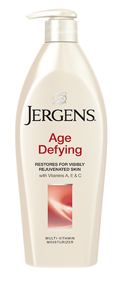 Get Jergens Age Defying MultiVitamin Moisturizer to give