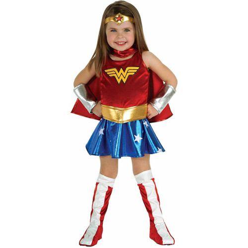 Wonder Woman Girls Toddler Halloween Costume Halloween Costumes - toddler girl halloween costume ideas