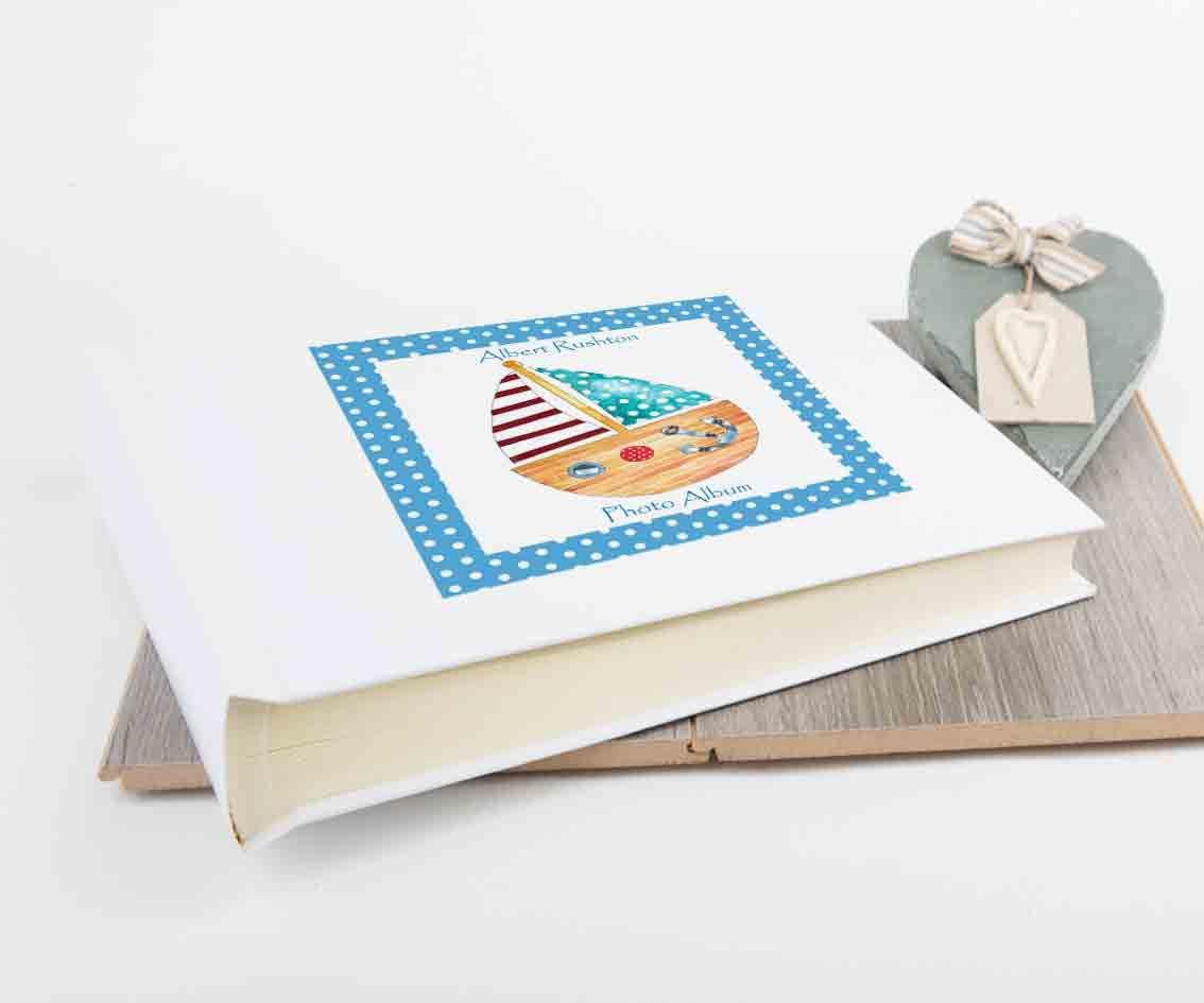 Baby Photo AlbumsPersonalised GiftsPersonalised GiftPersonalised Gifts1st Birthday GiftChristening Gift Boat By TigerlilyprintsLtd On