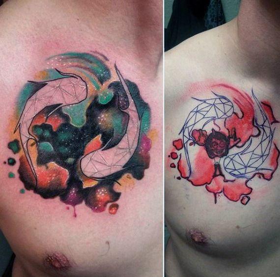 Pisces Tattoos For Men Astrology Ink Design Ideas Cute - 30 unique pisces tattoos design ideas boys girls