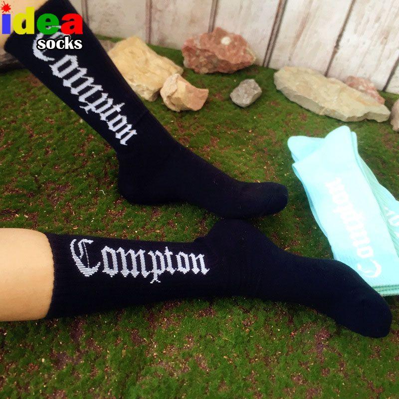 41088decf7be Click to Buy << Los Angeles gangsta crip compression casual west beach cotton  men crew socks street Skateboard Socks hip hop brand dress Socks #Affiliate