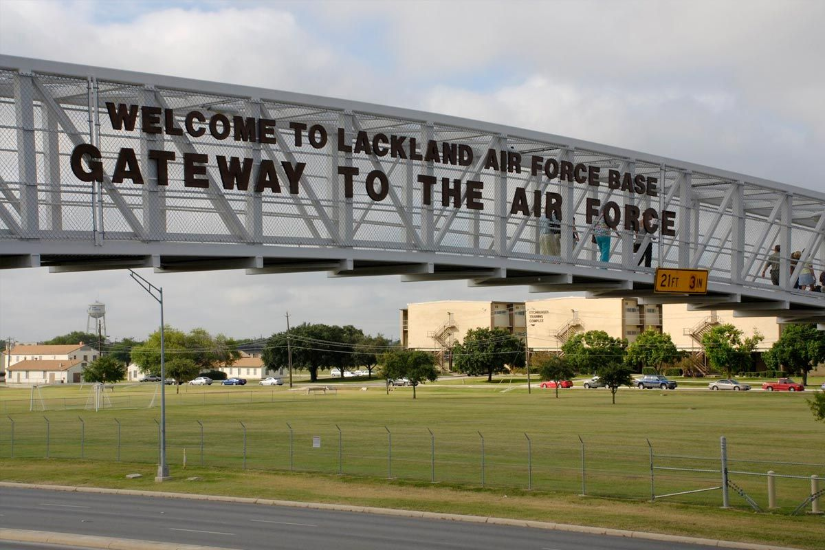 Lackland Air Force Base April 24th through June 6th 1984