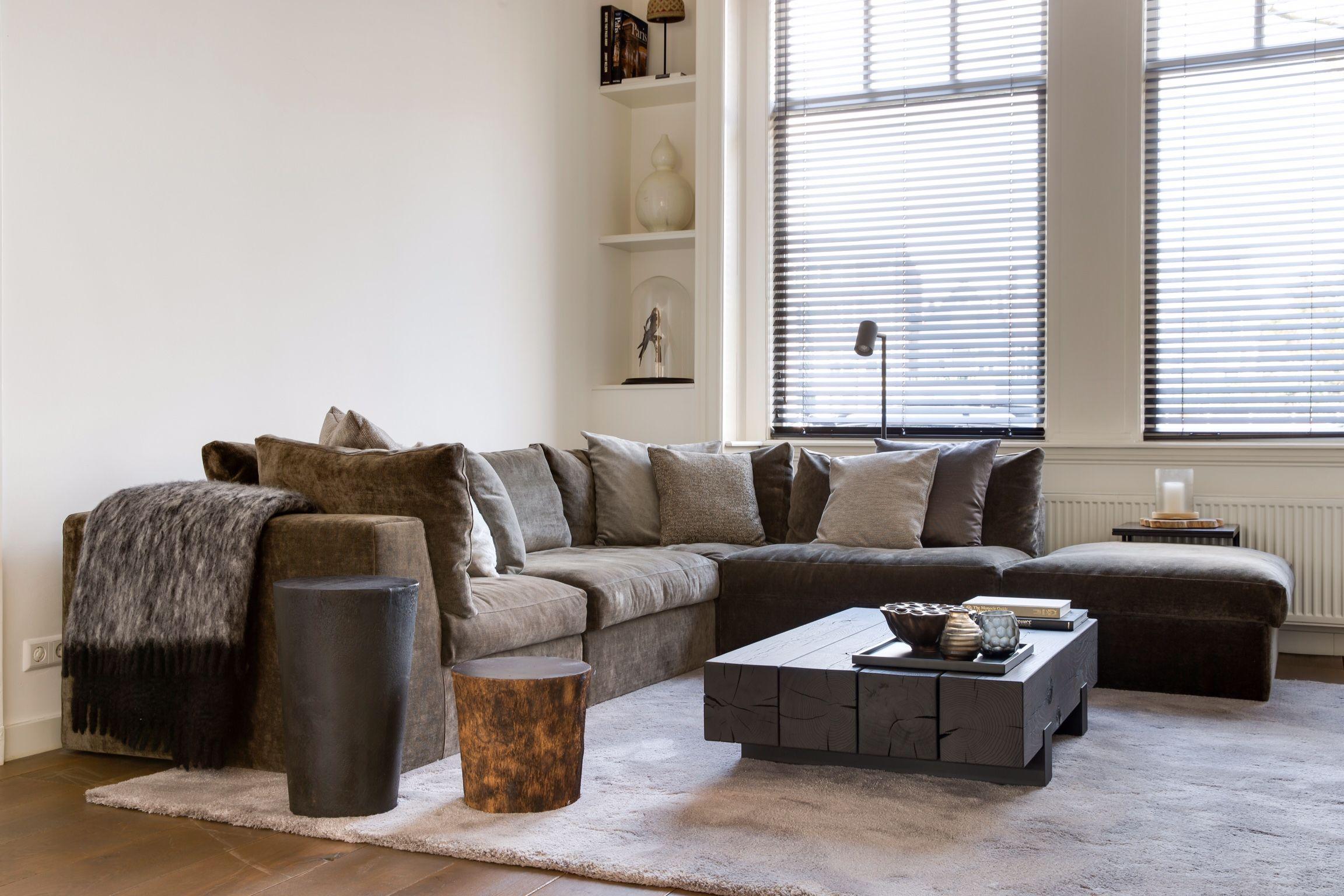 Salontafel beam van rossum meubelen door clairz interior design