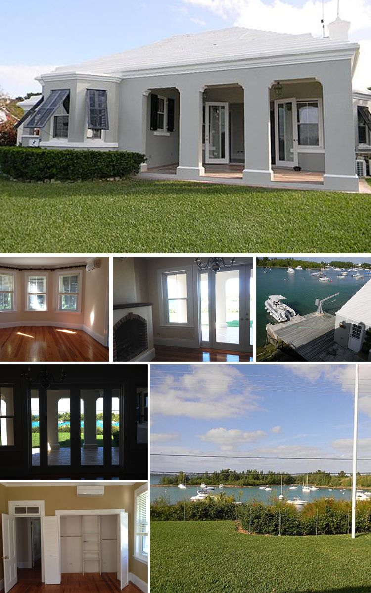 Coral Point // bermuda house // waterfront // moving to Southampton // new house radworkss.com