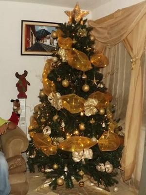 Lindos Arboles Navidad Dorados L Eurvww árbol De Navidad