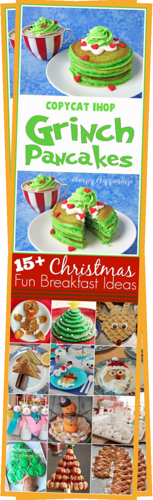 Copycat IHOP Grinch Pancakes Recipe  #travelquote #christmasmeal aroundtheworldideas #newhomefortheholidays #christmasapartment #holidaygoodness #holidayideas #travelideas #christmasideas