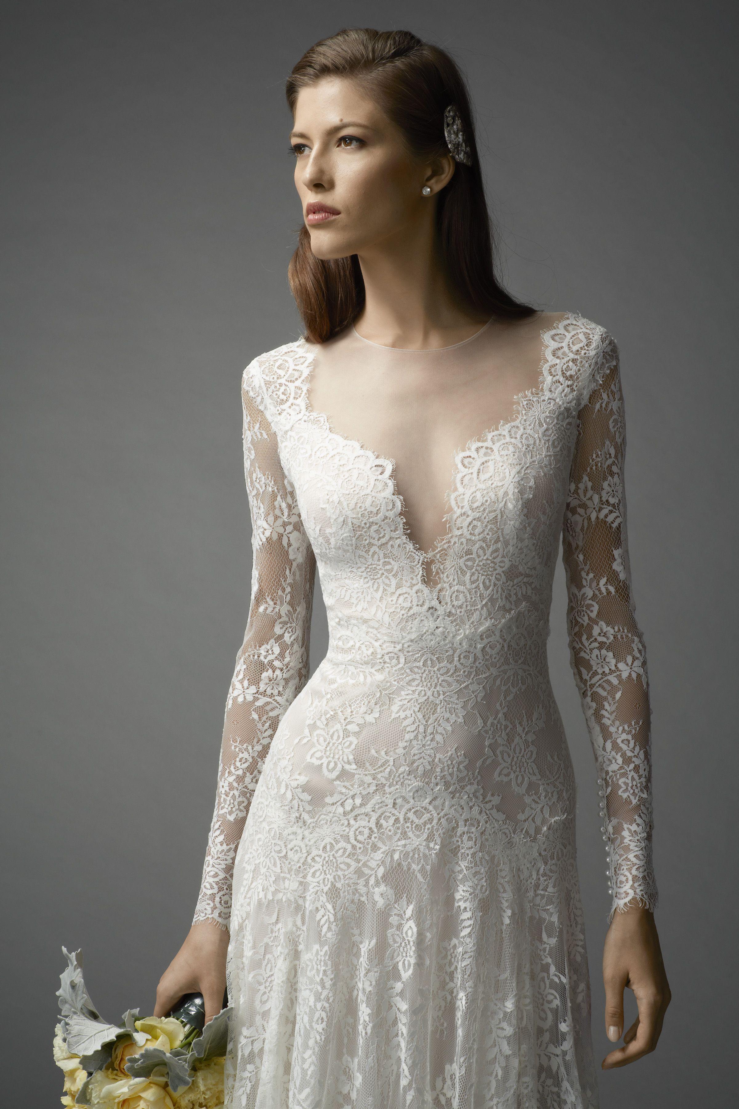 Watters Arcelia Gown #watters #weddingdress #spring2015   White ...
