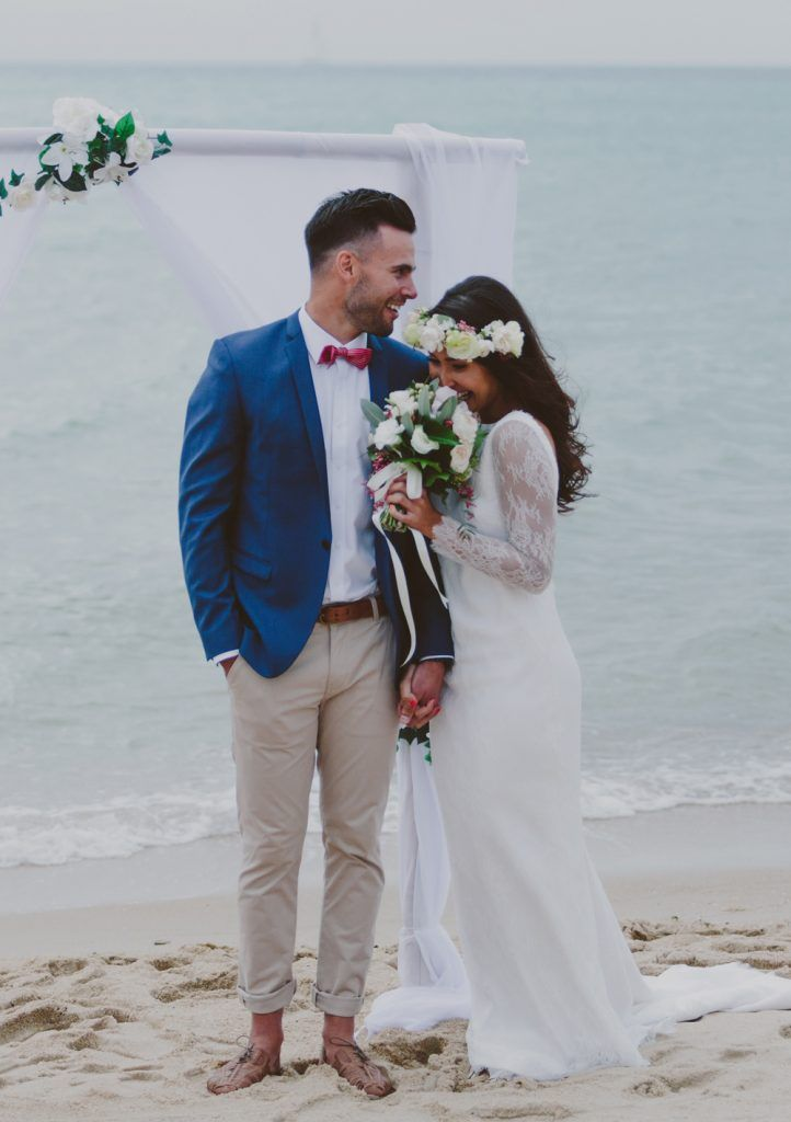 Wedding Dress Beach Groom Attire