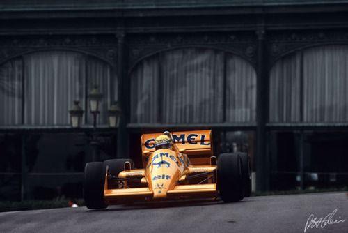 Ayrton Senna   1987 Monaco GP