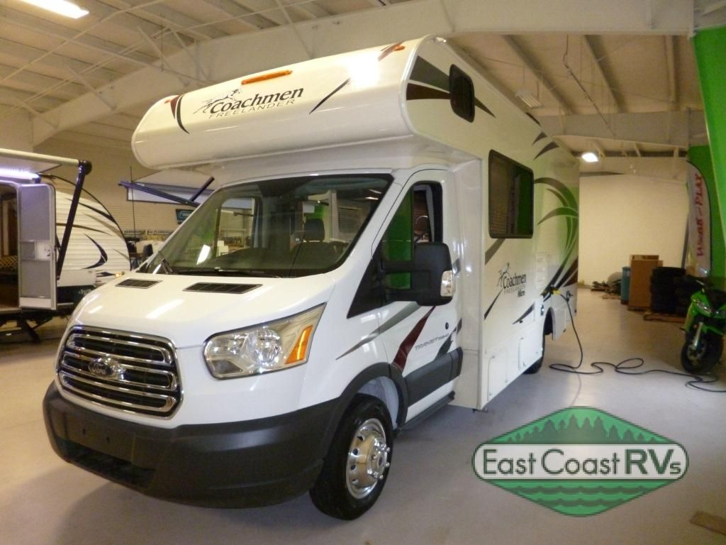 New 2018 Coachmen RV Freelander 20CB Ford Transit Motor Home Class C At East Coast Specialists