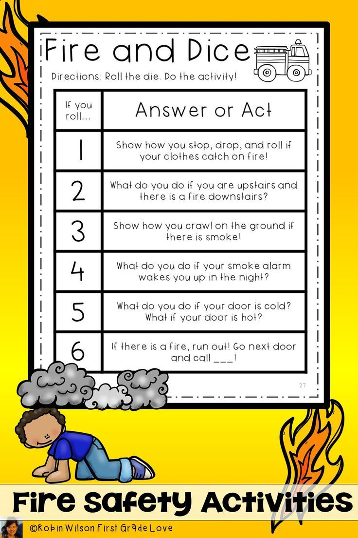 Roll The Dice And Practice Fire Safety Activities Plus Much More Included Firesafetyactivities Fires Fire Safety Activities Fire Safety Fire Safety For Kids [ 1104 x 736 Pixel ]