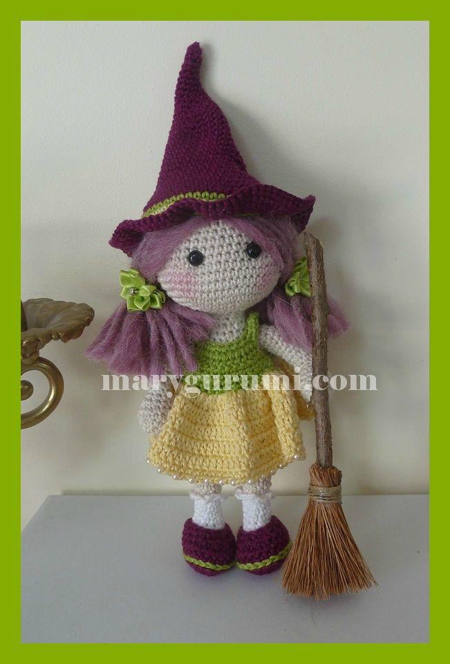 Amigurumi Crochet Happy Hallowen And Cute Witch Patterns   960x651