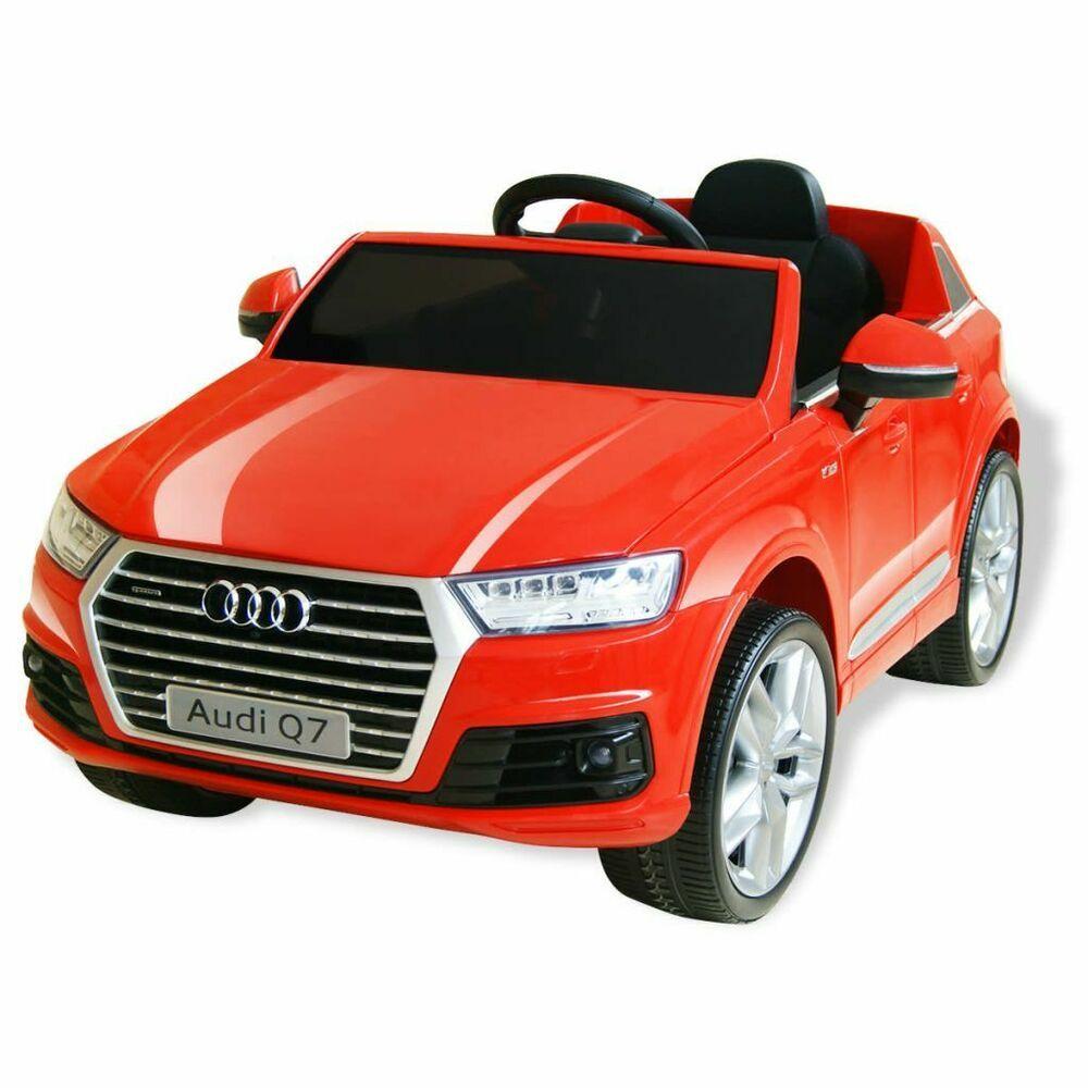 eBay #Sponsored vidAX Kinder Electroauto Audi Q7 Rot 6V Ele …
