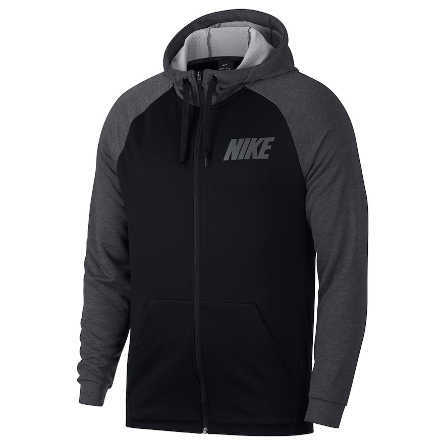 24d74406be62 Big   Tall Nike French Terry Dry Full-Zip Hoodie