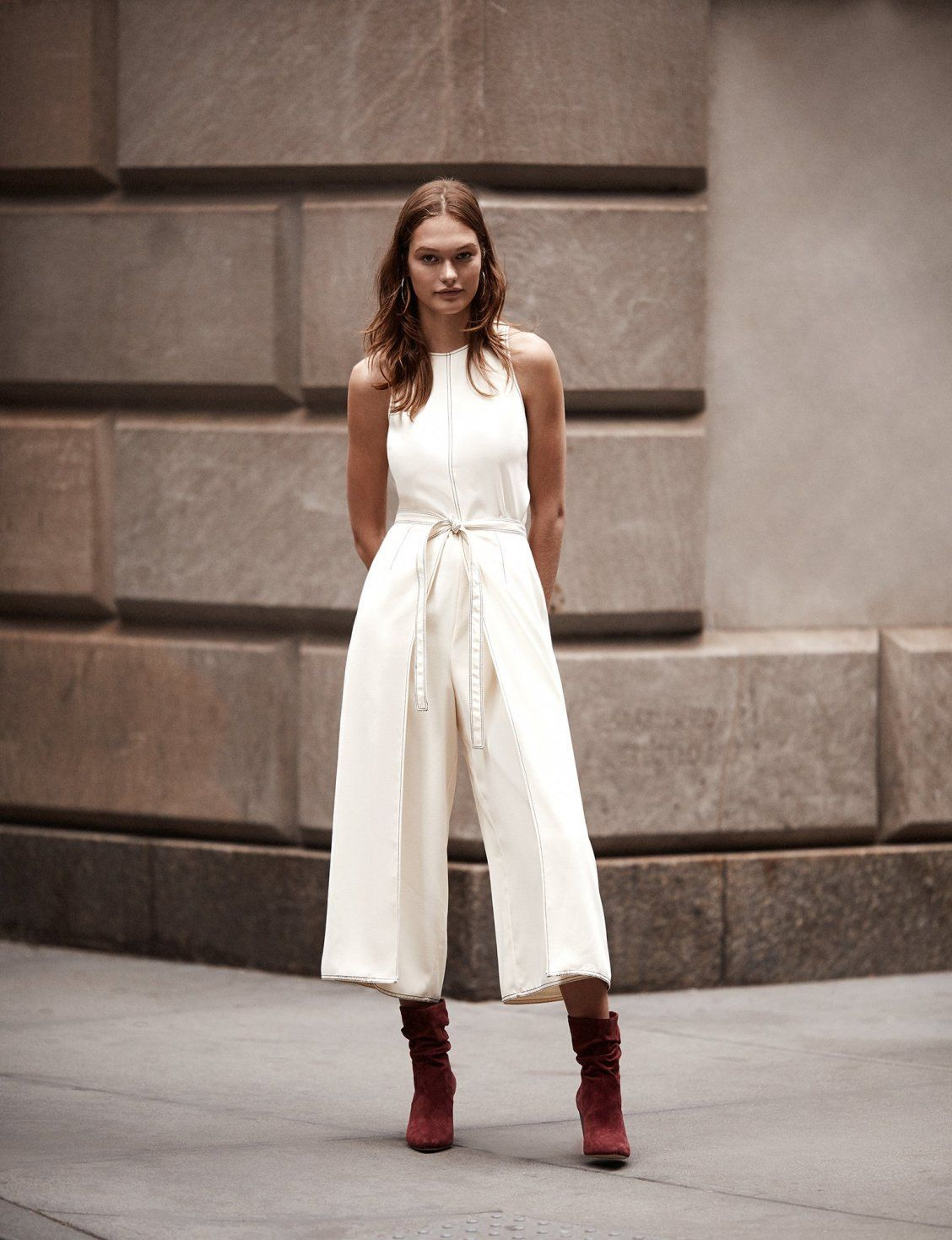 ad84b7de716 A modern take on a classic staple – wrap detailing on The Mairead makes the  jumpsuit