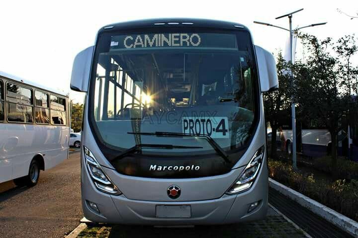 Mercedes benz Marco polo Viale brt congreso internacional de transporte sustentable de México parque bicentenario