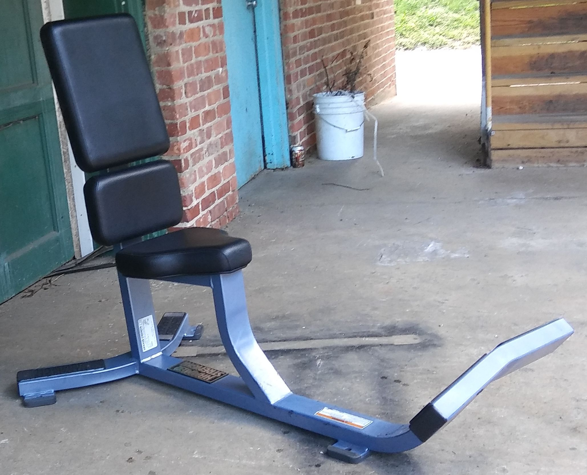 Hammer strength utility bench90 degree 395 with