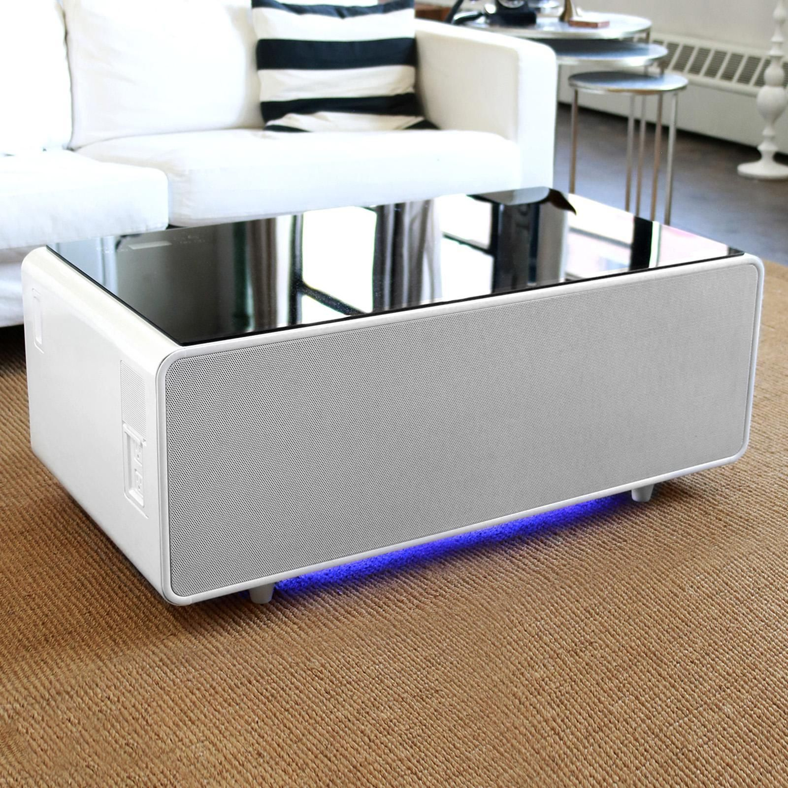 Smart Coffee Table By Sobro Zola Coffee Table Coffee Table With Storage Storage [ 1600 x 1600 Pixel ]