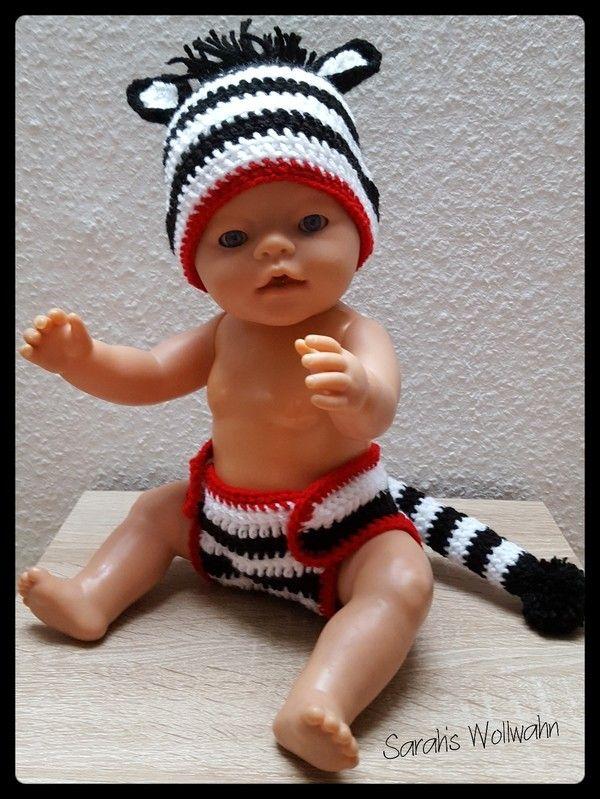 Häkelanleitung Zebra Kostüm Von Sarahs Wollwahn Eine Süßes Zebra