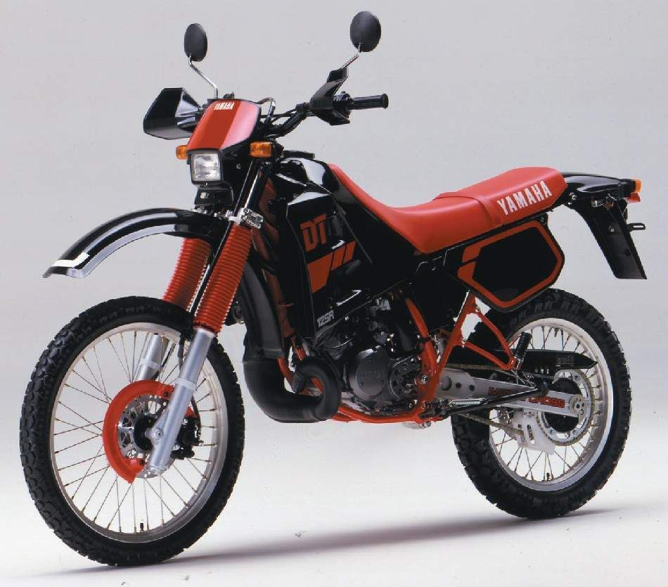 DT 125R, 1988 125 Motorcycle, Japanese Motorcycle, Small Motorcycles, Yamaha  Motorcycles,