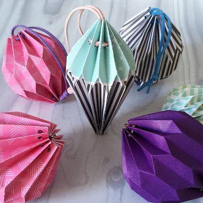 Origami Lantern Gallery Tutorial Using Silhouette Cameo By Nadine