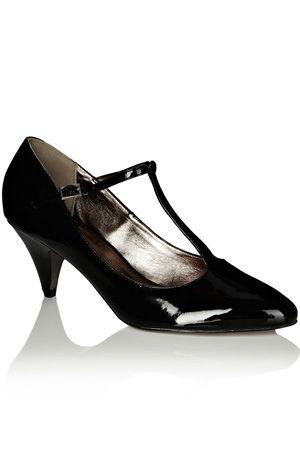 d4a8a507881 Patent kitten heel shoe £35   shoes for WALKING PRETTY   Shoes ...