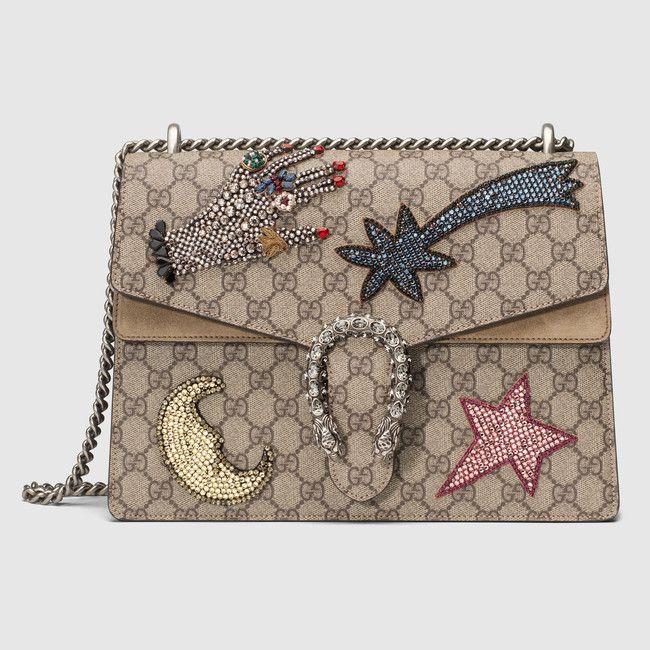 Dionysus embroidered shoulder bag | Bags | Gucci shoulder ...
