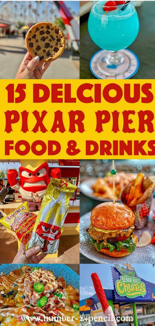 Photo of 15 köstliche Disneyland Pixar Pier Essen & Trinken