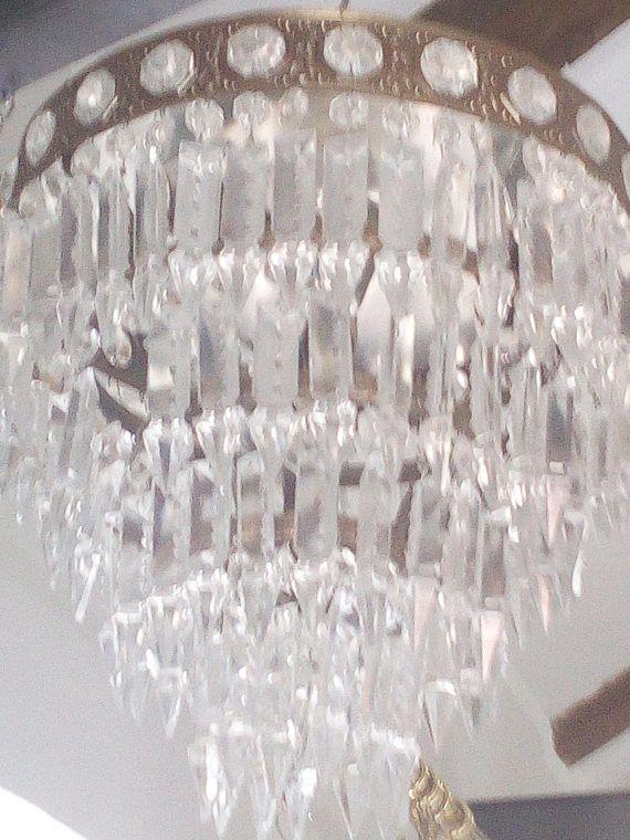 Guarda questo articolo nel mio negozio Etsy https://www.etsy.com/it/listing/468375017/vendita-italiano-flush-mount-cascata