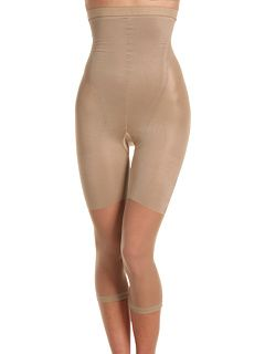 Wear this under a tight fitting outfit to smooth out your figure. :D  Even the best bods in Hollywood wear Spanx.