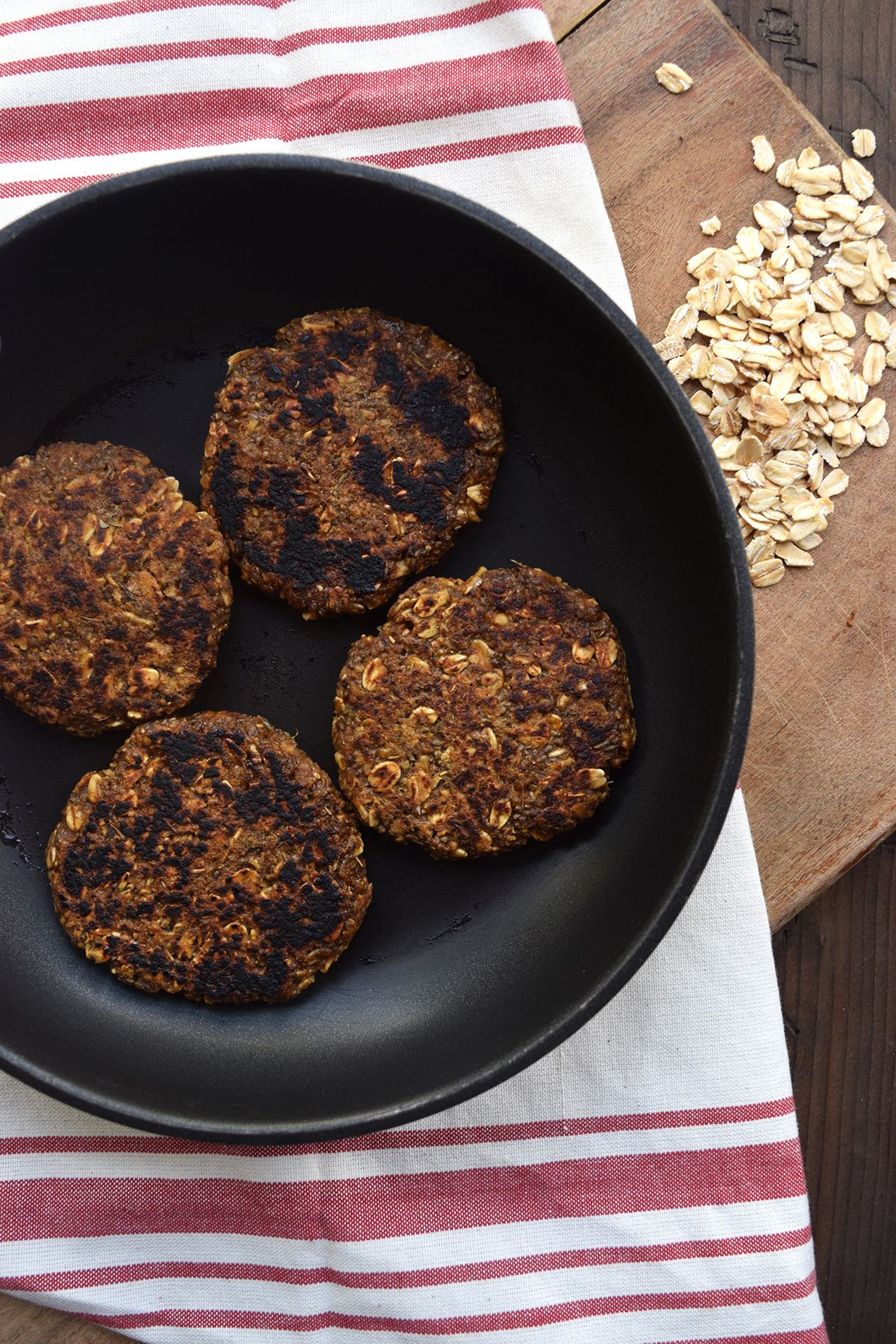 Spicy Vegan Breakfast Sausage Patties Made With Oats Hearty Smoky Savory And Gluten Free The Perfect Add Savory Vegan Sausage Breakfast Whole Food Recipes